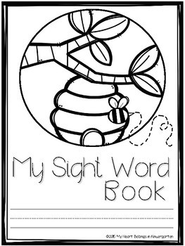 Sight Word Practice Pages - Second Grade