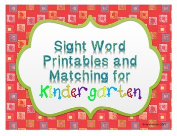 Sight Word Writing Practice: Print and Go!