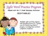 Sight Word Program - Aligned with 1st Grade Storytown {EDITABLE}