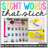 Sight Word Program {EDITABLE}