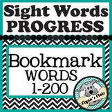 Sight-Word Progress Bookmark
