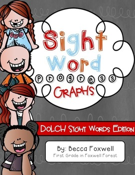 Dolch Sight Word Progress Graphs
