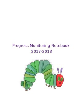 Sight Word Progress Monitoring Notebook