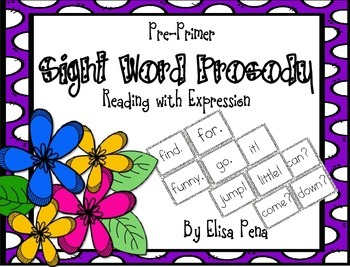 Sight Word Prosody