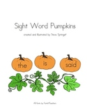 Sight Word Pumpkin Patch