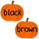 Sight Word Pumpkins (Kindergarten Dolch Sight Words)