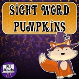 Sight Word Pumpkins (Kindergarten Dolch Sight Words)