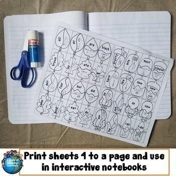 Sight Word Puzzles Bundle