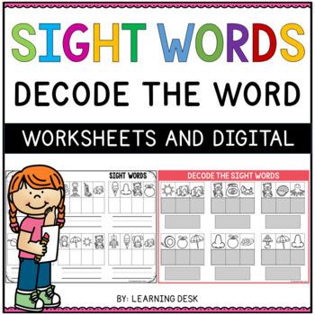 Sight Words Kindergarten (Secret Words)