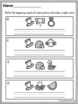 Sight Words First Grade (Secret Words)