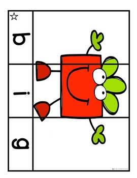 Sight Word Puzzles December | Sight Word Centers