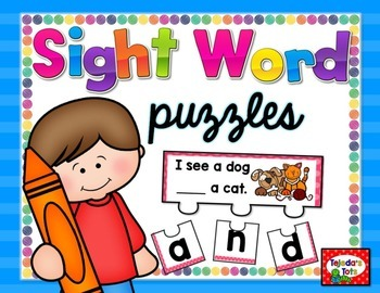Sight Word Puzzles: FRY Words 1-100