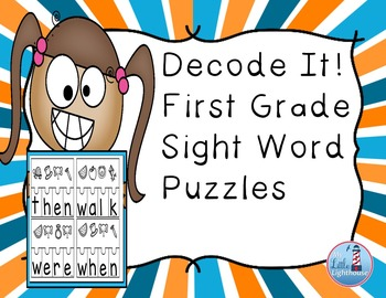 Sight Word Puzzles ( First Grade Sight Words)