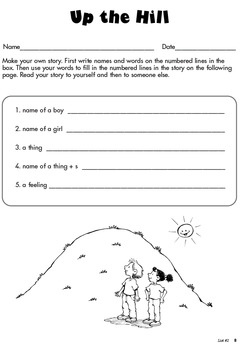 Sight Word Puzzles and Activities List #2