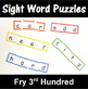 Sight Word Puzzles based on Fry 1-300 Bundle
