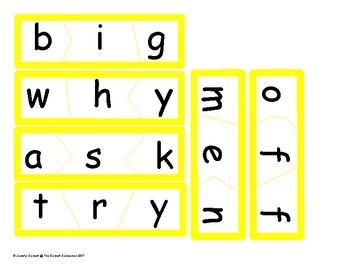 Sight Word Puzzles based on Fry 101-200