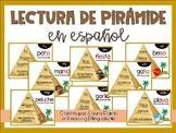 Sight Word Pyramid Reading in Spanish