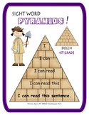 Sight Word Pyramids!  Dolch 1st Grade