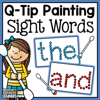 Sight Word Q-Tip Painting