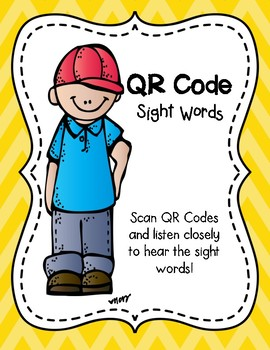 Sight Word QR Code Freebie