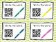 Sight Word QR Code Task Cards *Set 2*