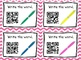 Sight Word QR Code Task Cards *Set 3*