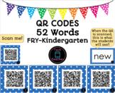 Sight Word QR Codes Kindergarten