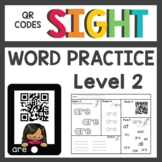 Sight Word QR Codes Level 2