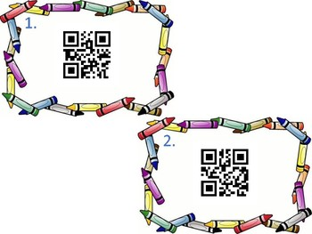 Sight Word QR Write the Room
