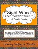 Sight Word - READ,WRITE,BUILD - 1st Grade