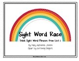 Sight Word Race {Dolch Sight Word Phrases from List 1}