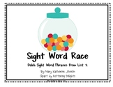 Sight Word Race {Dolch Sight Word Phrases from List 2}