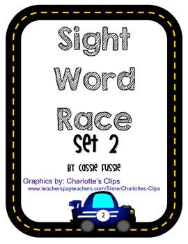 Sight Word Race {Set 2}