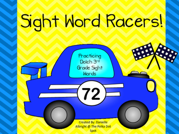 Sight Word Racers: Practicing 3rd Grade Dolch Words