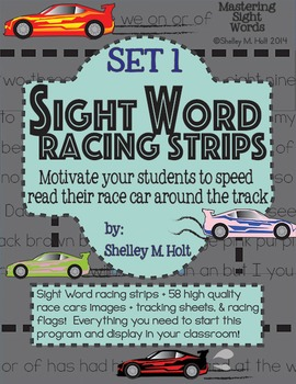 Sight Word Racing Program - Set 1