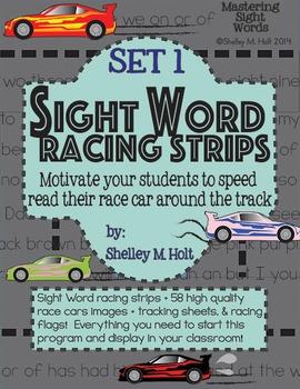 Sight Word Racing Program - Set 1