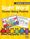 Sight Word Rainbow Writing Minibook