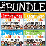 Sight Word Read It and Write It Strips BUNDLE