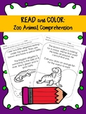 Sight Word Read and Color Comprehension