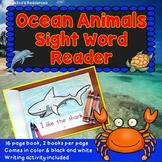 Ocean Animals Sight Word Reader