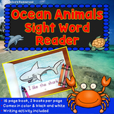 Ocean Animals Sight Word Reader