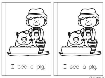 Sight Word Reader {A, See}