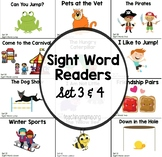 Sight Word Reader Booklets - Set 3 and 4