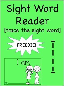 Sight Word Reader- FREE