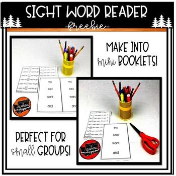 Sight Word Reader FREEBIE!