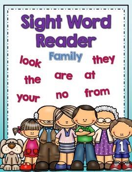 Sight Word Reader: Family
