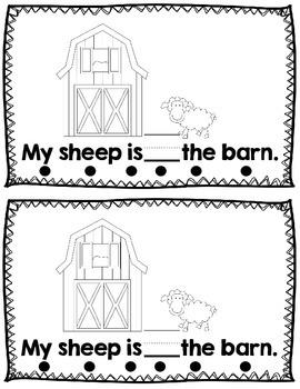Sight Word Reader: Farm Theme