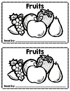 Sight Word Reader: Fruits