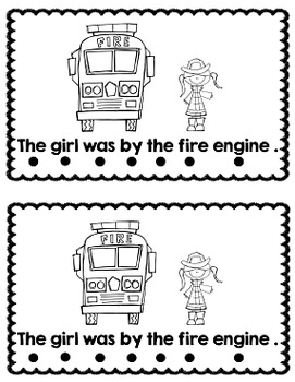 Sight Word Reader: Fire Station