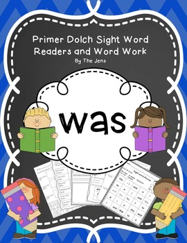 Sight Word Reader, Fluency and Word Work (WAS)